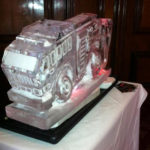 Fire Engine Ice Luge