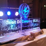 Kuwait Oil Company snowfilled logo 2mx1m 2010