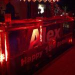 happy bday ice bar