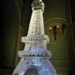Eiffel tower sculpture or luge