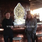 Lemon ice luge for Keith Lemon