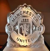 Manchester United Ice- Sculpture