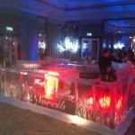 16metre square ice bar for Suresh Nanda at Dorchester hotel
