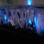 ice bar with name carved