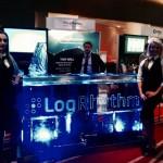 LogRhythm Ice Bar at exhibition