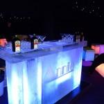 Ice bar with minimalist design