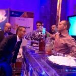Log Rythm Gartner ice bar with luge