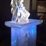 Russian themed ice bar and luge
