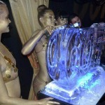 007 and Bond girls - Ice Luge - Luge for Vodka - Ice Carving Sculpture | Ice Agency