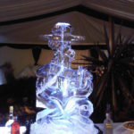 Anchor Ice Sculpture Vodka Ice Luge