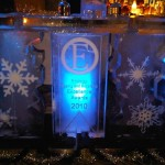 3m ice bar with detailing - Ice Carving Sculpture | Ice Agency