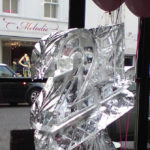 21st Birthday Ice Sculpture Vodka Ice Luge Kensington London
