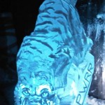 - Princess of Wales Royal Regiment Tiger - Ice Luge - Luge for Vodka - Ice Carving Sculpture | Ice Agency