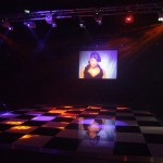 Black and white dance floor and lighting | Ice Agency