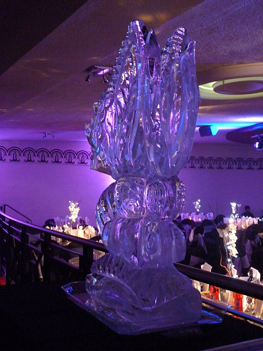 Vodka luge wedding