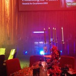 Specsavers Christmas party - Ice Carving Sculpture | Ice Agency