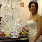 Wedding love birds Ice Luge | Wedding Fayre | Ice Agency