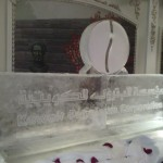 Kuwait Petroleum Ice Sculpture Hilton Hotel London