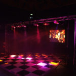 Black and white dance floor for hire | Ice Agency