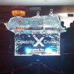 Celebrity X Cruises Ice Sculpture Live Carving | Ice Agency