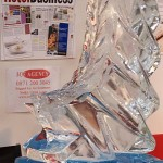 Corporate ski jump luge - Ice Luge - Luge for Vodka - Ice Carving Sculpture | Ice Agency