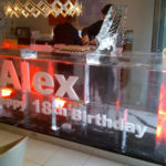 3M Birthday ice bar - Ice Luge - Luge for Vodka - Ice Carving Sculpture - Gloucester | Ice Agency
