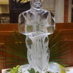 Oscar Ice Sculpture Vodka Ice Luge for Movie Theme Party