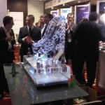 Vodka station and luge for Rusoft - Ice Luge - Luge for Vodka - Ice Carving Sculpture | Ice Agency