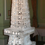Wedding Eiffel Tower ice sculpture
