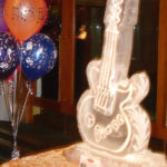 Guitar Ice Sculpture Vodka Ice Luge Watford Birthday Party