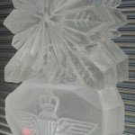 Parachute Regiment - Ice Luge - Luge for Vodka - Ice Carving Sculpture | Ice Agency