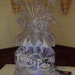 Thorpe Park - Ice Luge - Luge for Vodka - Ice Carving Sculpture | Ice Agency