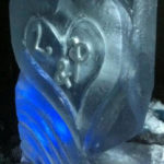 Heart Wedding Party Ice Vodka Luge | Ice Agency