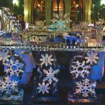 Christmas Ice Bar -Ice Carving Sculpture | Ice Agency