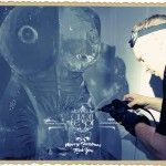Cirque le Soir - Ice Carving Sculpture | Ice Agency