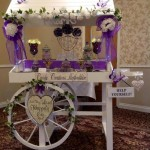 party cart for wedding