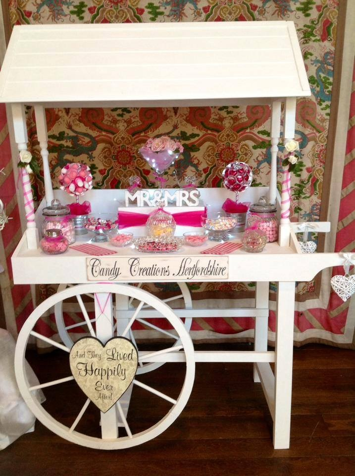 Sweetie Cart Mr And Mrs Candy Carty