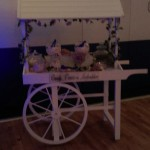 sweet cart at event