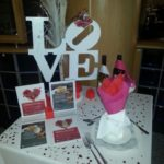 Love Table Centre piece | Wedding Centre piece | Ice Agency
