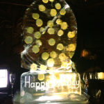 Keith Lemon Birthday Ice Sculpture Vodka Ice Luge at Camden Party