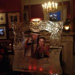 Picture Frame Ice Sculpture Vodka Ice Luge Ice Sculpture Photo Booth