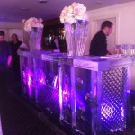 Floral Ice Bar - Ice Carving Sculpture | Ice Agency