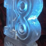 40 Party Vodka Ice Luge - Glacial Ice - Ice box Party Ice Vodka Luge - Luge for Vodka - Ice Carving Sculpture | Ice Agency