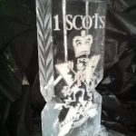 1 Scots - Double Ice Luge - Luge for Vodka - Ice Carving - Ice Sculpture | Ice Agency
