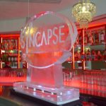 Logo - Double Ice Luge - Luge for Vodka - Ice Carving Sculpture | Ice Agency