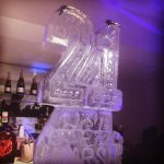 21st Birthday - Ice Luge - Luge for Vodka - Ice Carving Sculpture | Ice Agency