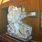 9 RLC - Officers Mess Vodka Luge - Vodka Luge - Ice Carving Sculpture | Ice Agency
