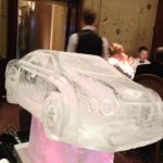 Bentley Turbo Car Ice Sculpture Vodka Ice Luge