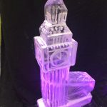 Big Ben Ice Sculpture Vodka Ice Luge for Westminster party event