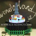 Blue Chocolate Fountain - Chocolate Fountain for Hire | Ice Agency